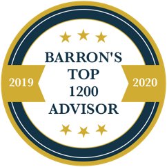 Barrons Top Advisor Badge - Dobyns Wealth Team