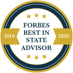 Forbes Advisor Badge - Dobyns Wealth Team