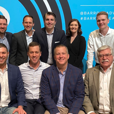 Southwestern advisors posing for a picture at Barron's Summit 2019