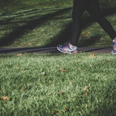 running outside for self care during social distancing